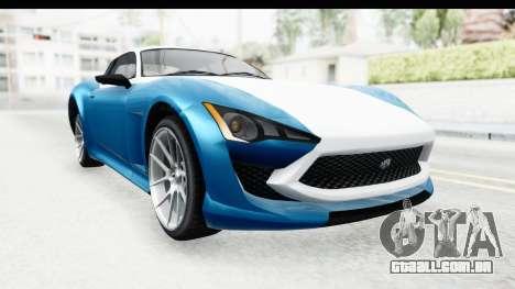 GTA 5 Lampadati Furore GT SA Lights para GTA San Andreas vista direita