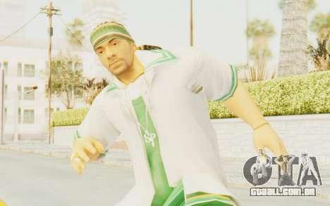 Def Jam Fight For New York - Sean Paul v2 para GTA San Andreas