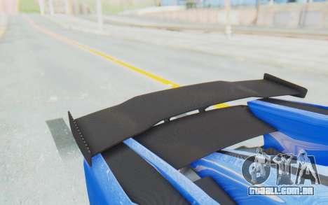 GTA 5 Grotti Prototipo v1 para GTA San Andreas vista interior