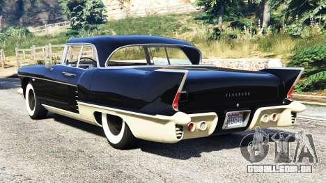 Cadillac Eldorado Brougham 1957 v1.1 para GTA 5
