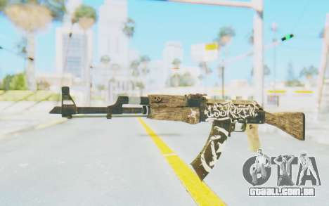 CS:GO - AK-47 Wasteland Rebel para GTA San Andreas