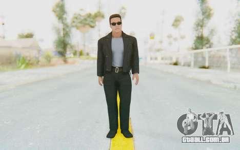 WWE2k16 Arnold Schwarzenegger Terminator para GTA San Andreas segunda tela