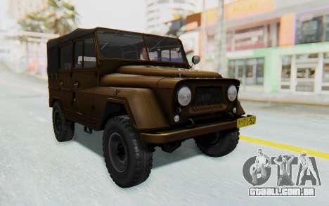 UAZ-460Б FIV para GTA San Andreas