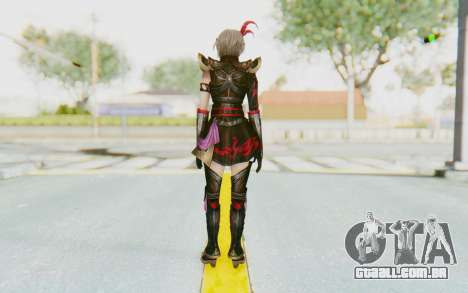 Dynasty Warriors 8 - Lu Lingqi v1 para GTA San Andreas terceira tela