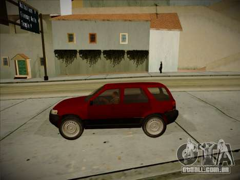 Ford Escape 2005 para GTA San Andreas vista interior