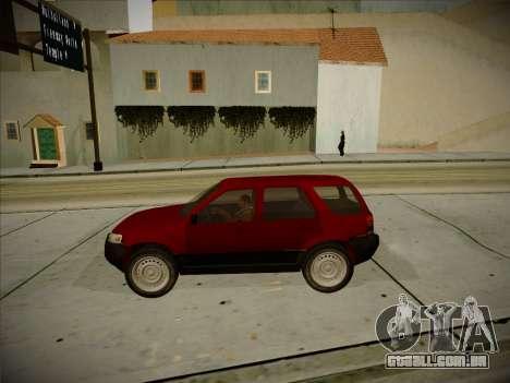 Ford Escape 2005 para GTA San Andreas vista interior