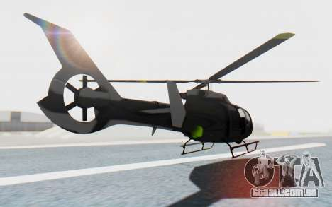 GTA 5 Maibatsu Frogger Civilian IVF para GTA San Andreas esquerda vista