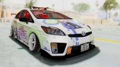 Toyota Prius Hybrid 2011 Hellaflush IF Itasha para GTA San Andreas