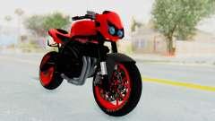 Kawasaki Ninja 250R Streetrace Naked para GTA San Andreas