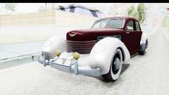 Cord 812 Charged Beverly Low Chrome para GTA San Andreas