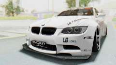 BMW M3 E92 Liberty Walk LB Performance para GTA San Andreas