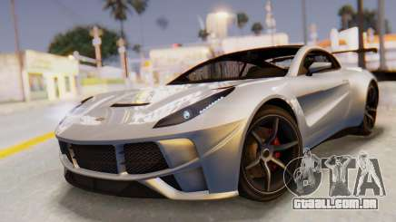 GTA 5 Dewbauchee Seven 70 SA Lights para GTA San Andreas