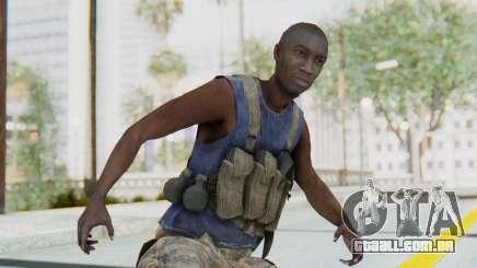 CoD MW3 Africa Militia v2 para GTA San Andreas