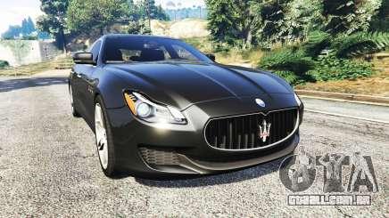 Maserati Quattroporte 2013 para GTA 5