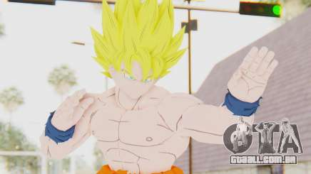 Dragon Ball Xenoverse Goku Shirtless SSJ para GTA San Andreas