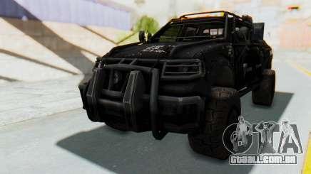 Toyota Hilux Technical Vindicator SecFor para GTA San Andreas
