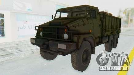 MGSV Phantom Pain BOAR 53CT Truck para GTA San Andreas