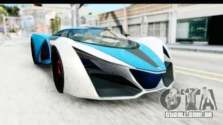 GTA 5 Grotti X80 Proto IVF para GTA San Andreas