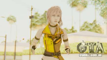 Final Fantasy XIII - Lightning Electronica para GTA San Andreas