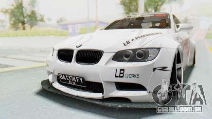 BMW M3 E92 Liberty Walk LB Performance para GTA San Andreas