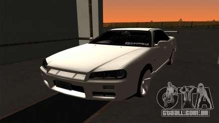 Nissan Skyline ER34 GT-R para GTA San Andreas