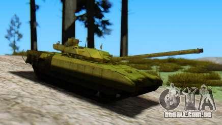 T-14 Armata Green para GTA San Andreas