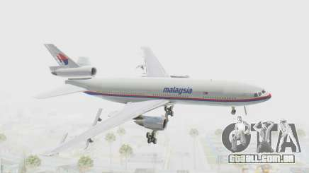 DC-10-30 Malaysia Airlines (Old Livery) para GTA San Andreas