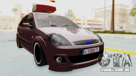 Ford Fiesta hatchback de 3 portas para GTA San Andreas