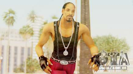 Def Jam Fight For New York - Snoop Dogg para GTA San Andreas