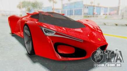 Ferrari F80 Concept 2015 Beta para GTA San Andreas