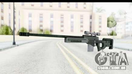 GTA 5 Shrewsbury Sniper Rifle para GTA San Andreas