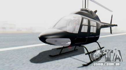 Bell 206B-III Jet Ranger Policja para GTA San Andreas