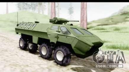 Lazar Serbian Armored Vehicle para GTA San Andreas
