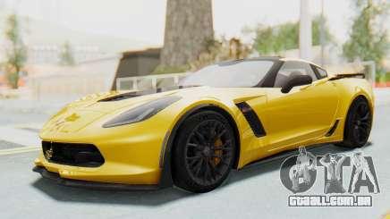 Chevrolet Corvette C7.R Z06 2015 para GTA San Andreas