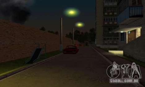 O novo bairro, perto de Arzamas para GTA San Andreas oitavo tela