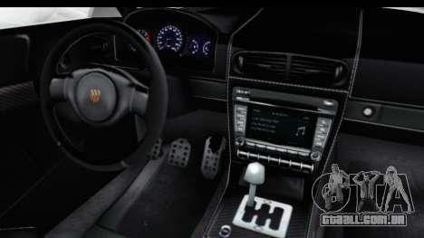 GTA 5 Pfister 811 SA Lights para GTA San Andreas vista interior