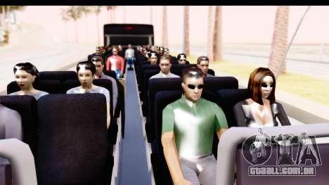 Bus Tours Dic Megadic 4x2 ETCE para GTA San Andreas vista traseira