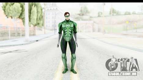 Injustice God Among Us - Green Lantern para GTA San Andreas segunda tela