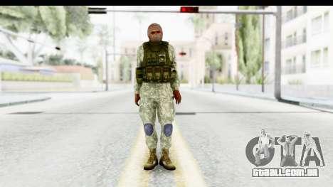 Global Warfare Arab para GTA San Andreas segunda tela
