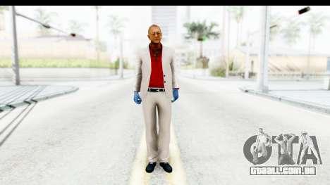 Payday 2 - Jiro para GTA San Andreas segunda tela