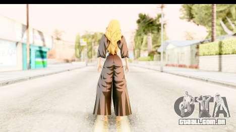 Bleach - Rangiku para GTA San Andreas terceira tela