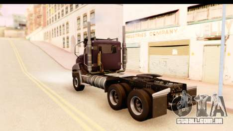 CAT CT 660 v1.0 para GTA San Andreas esquerda vista