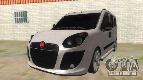 Fiat Doblo 2015 Series para GTA San Andreas