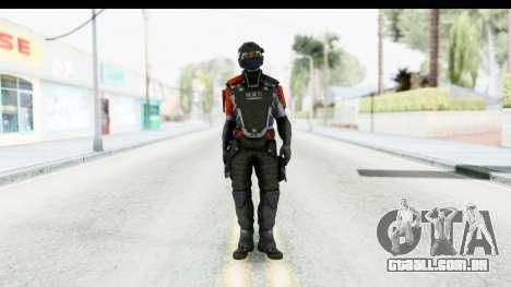 Homefront The Revolution - KPA v4 Captain para GTA San Andreas segunda tela
