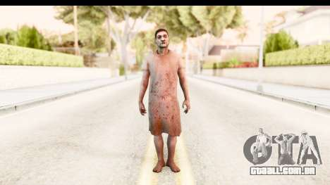 Left 4 Dead 2 - Zombie Patient para GTA San Andreas segunda tela