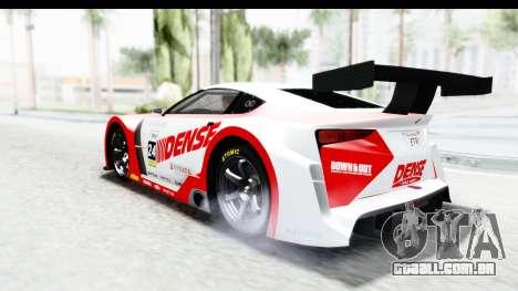GTA 5 Emperor ETR1 SA Lights para GTA San Andreas