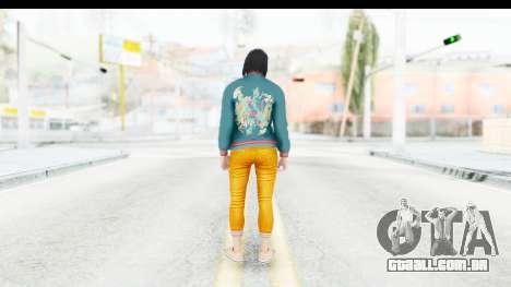 Cunning Stunts DLC Female Skin para GTA San Andreas terceira tela