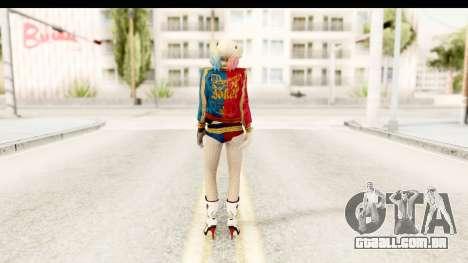 Suicide Squad - Harley Quinn para GTA San Andreas terceira tela