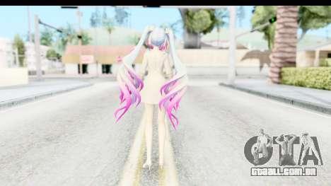 White Dress Miku para GTA San Andreas terceira tela