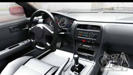Metal Gear Solid V Phantom Pain Firetruck para GTA San Andreas vista interior